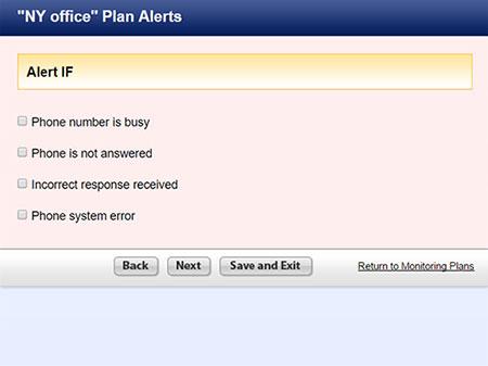 Specify Alerts